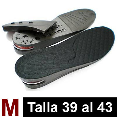 Par de Plantillas Air Black M