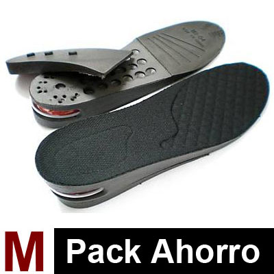 3 Pares de Plantillas Air Black M