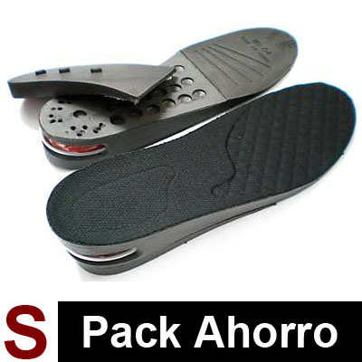 3 Pares de Plantillas Air Black S