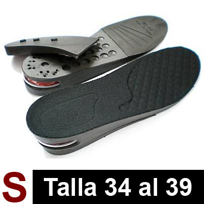 Par de Plantillas Air Black S